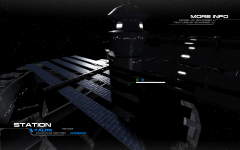 Tau'ri Space Station using Parallax Shaders