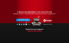 Vote for Stargate Space Conflict !