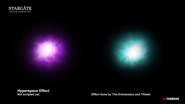 Hyperspace Effect - Final render