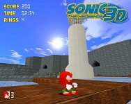 Sonic the Hedgehog 3D screenshots.