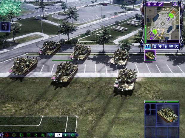 Mutant Rhino Tank