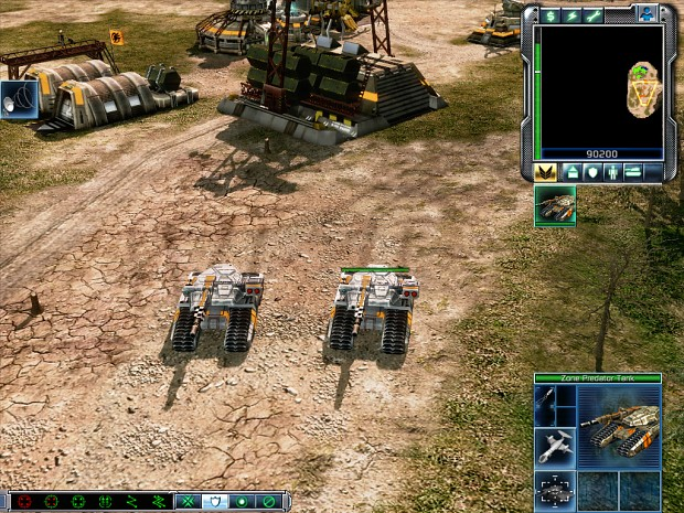Zone Predator Tank