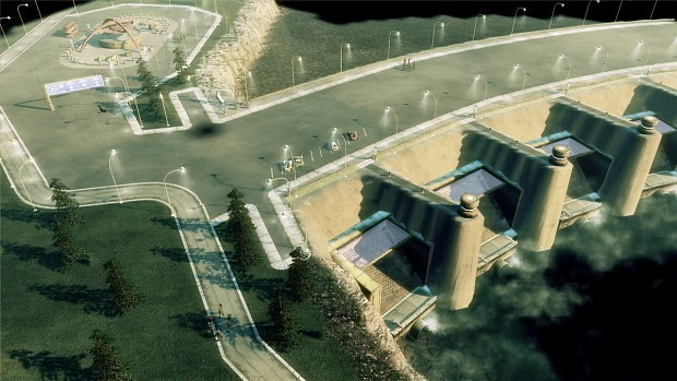 Tournament Dam (map)