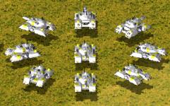 Lunar Defense Corps - Ursa Hover Tank