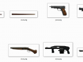 Episodes From Liberty City HD Real Weapon Icons (Grand Theft Auto: Episodes from Liberty City)