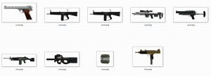 Preview of the Weapon Icons