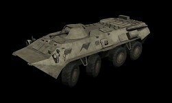 BTR80 and Abrams Models