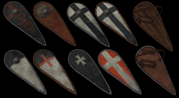Orders Kite shields
