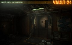 Vault 24 Elevator Waiting Rooms