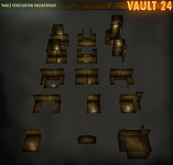 Vault Ventilation Passageways