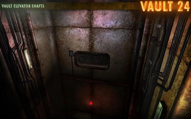 Vault 24 Elevator Shafts
