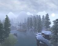 Snowfall in Birkfjord