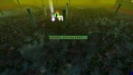 Zombie Apocalypse In Ultimate Apocalypse!!!