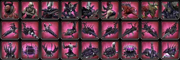 HD Dark Eldar Icons