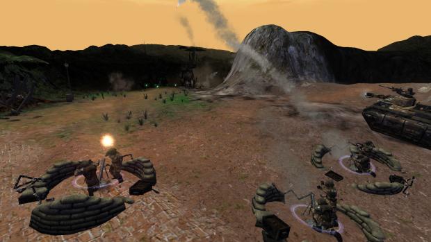 IG Heavy weapon squad mortars
