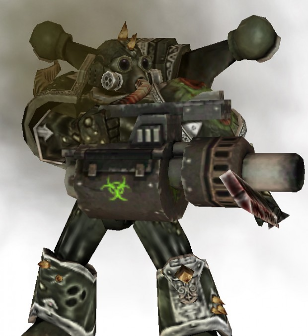Plague Marine Rad Launcher