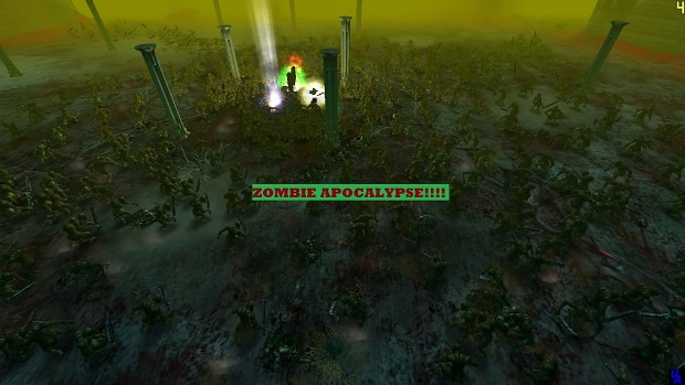 Zombie Apocalypse In Ultimate Apocalypse!!!