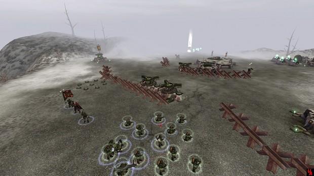 Tank Traps Ingame