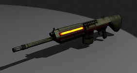 Rifle model by Snood_1990