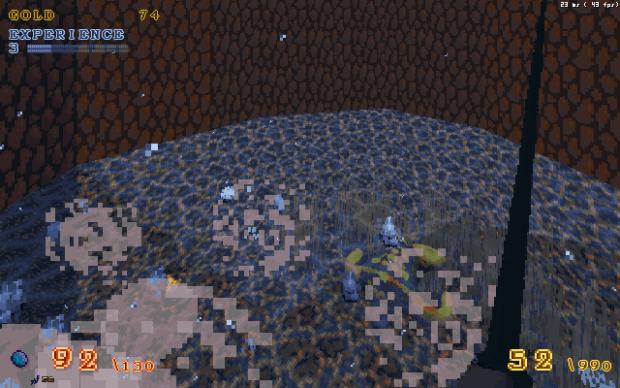 Cave pond