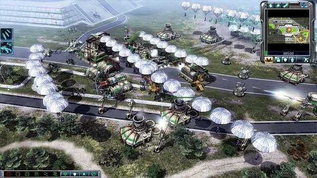 C&C: Generals Universe - Paradrop
