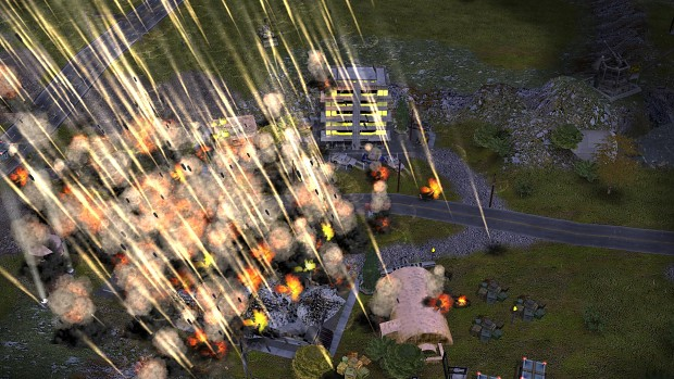 artillery barrage image - project raptor 9 mod for c u0026c  generals zero hour