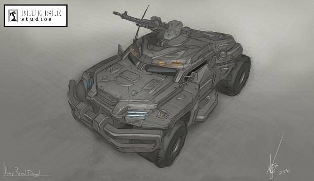 Heavy Recon Concept Art