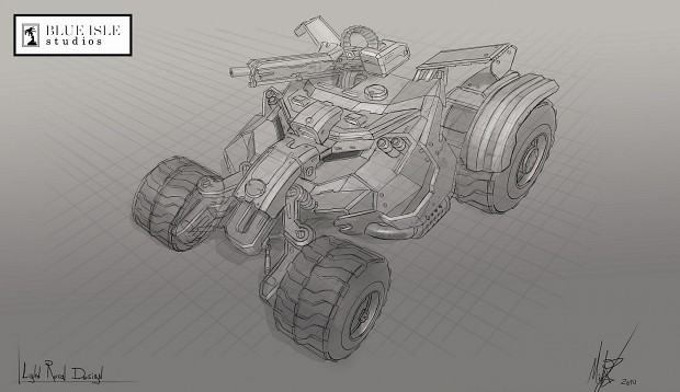 Light Recon Buggy Concept