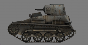 type94 light tank new details