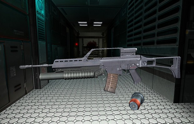 All final weapons and new Gordon model;