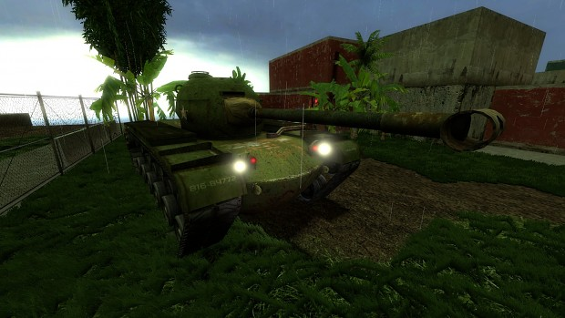 M48 Patton In game