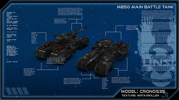 M850 Main Battle Tank