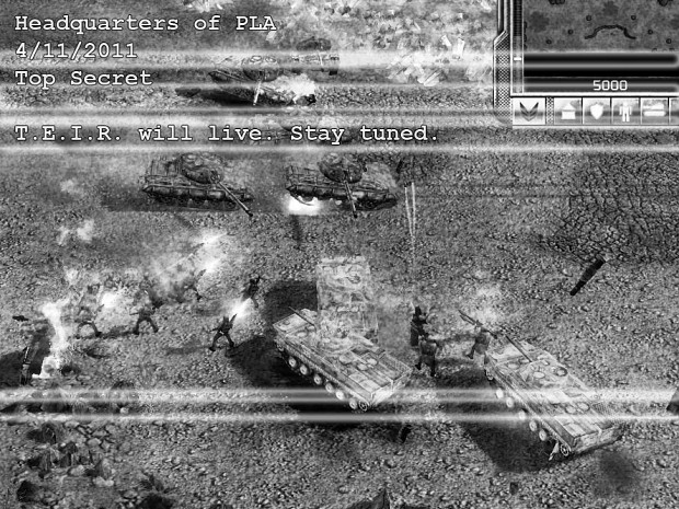 A secret report from PLA general headquarters.