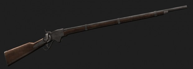 Spencer Repeating Rifle image - The Wild Wind mod for Mount