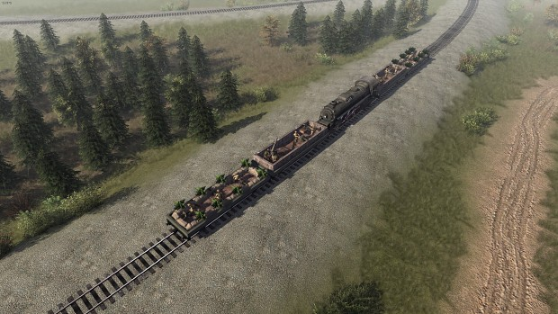 Armored trains in game!