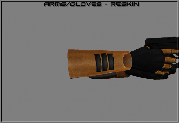 New reskin for arms/gloves