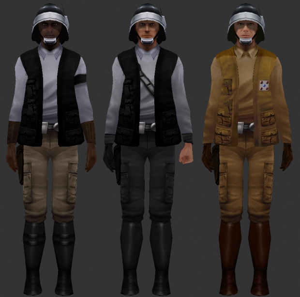 New Republic Soldiers