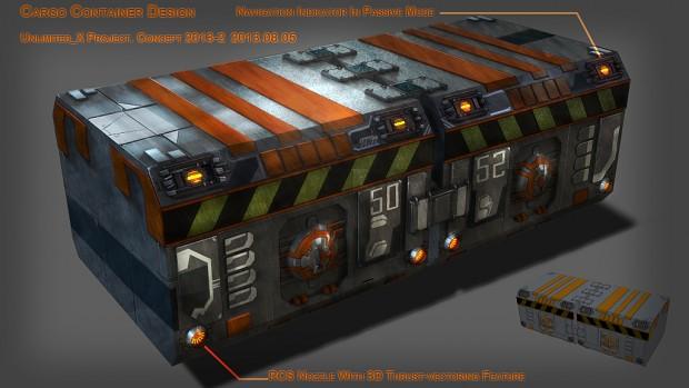 """Testbox"" - Cargo Container Design"