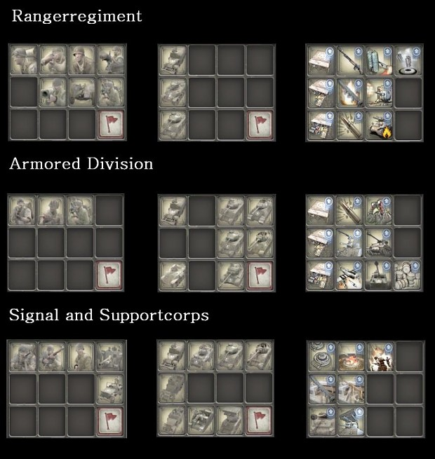 Icons of the US Army