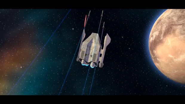 Harrier-Class Gunship