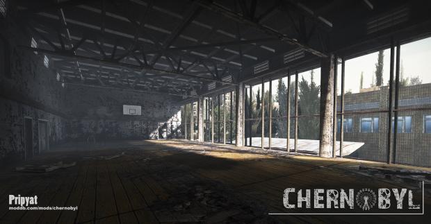 Pripyat Sports Centre