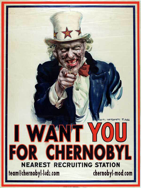 I want you for Chernobyl!