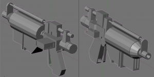 E-5 Blaster Rifle (Untextured Model)