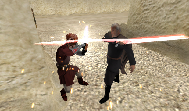 Plo Koon vs Count Dooku