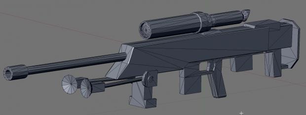 BX Commando Droid sniper rifle WIP