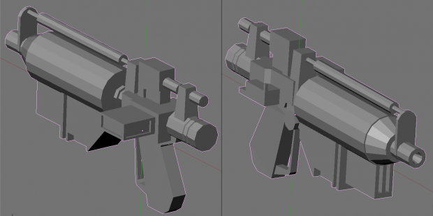 E-5 Blaster Rifle (Untextured Model)