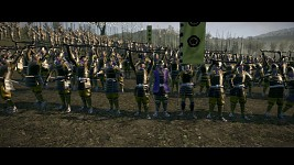 Battle in DarthMod: Shogun II