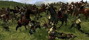 Battle in DarthMod: Shogun II