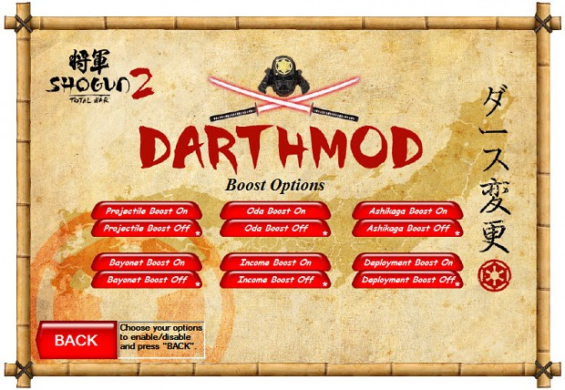 The new DarthMod has Bayonets for Fots units