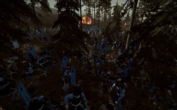 Some battle scenes with DarthMod FotS
